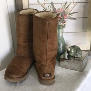 UGG chestnut 12 inch boots